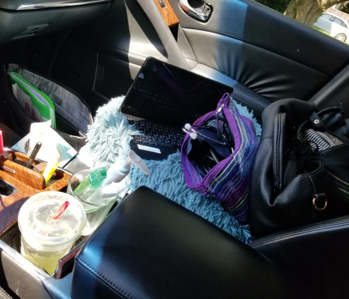 Messy Car:  Unfiltered Real Life. How Vulnerable Are You?